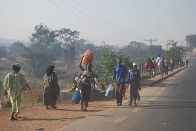 Road to Lilongwe