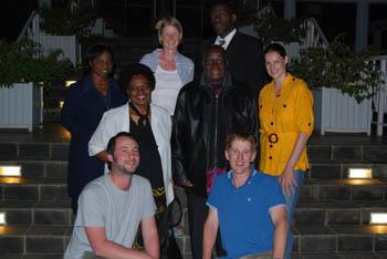 Kenneth Kaunda and WebsEdge crew